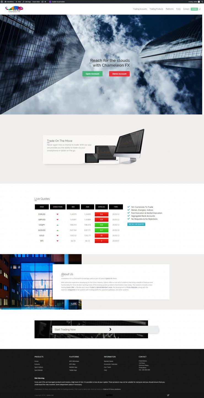 sample forex affiliate website